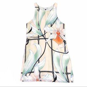 Designer Shona Joy Floral Print Shift Dress As NEW